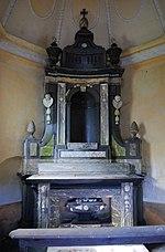 Attenrode - kapel van het kasteel (altaar)