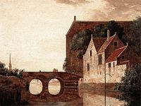 Attributed to Jan van der Heyden - View of a Bridge.jpg