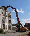 Auberchicourt - Démolition des Grands bureaux de la Compagnie des mines d'Aniche le 25 juillet 2013 (12).JPG