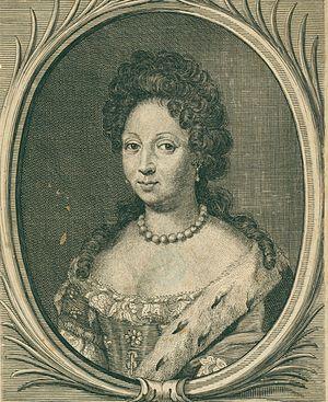 Augusta Marie of Holstein-Gottorp - Image: Augusta Marie of Holstein Gottorp, margravine of Baden Durlach