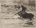 Auguste Louis Lepère - Pêcheurs Fuyants devant l'Orage - 1920.633 - Cleveland Museum of Art.jpg