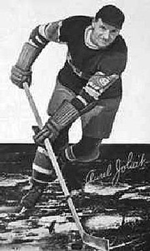 Aurèle Joliat - Joliat won the Hart Trophy in 1934.