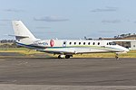 Australian Corporate Jet Centres (VH-EXQ) Cessna 680 Citation Sovereign at Wagga Wagga Airport (1).jpg