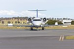 Australian Corporate Jet Centres (VH-JPQ) Canadair CL-600-1A11 Challenger 600 taxiing at Wagga Wagga Airport (4).jpg