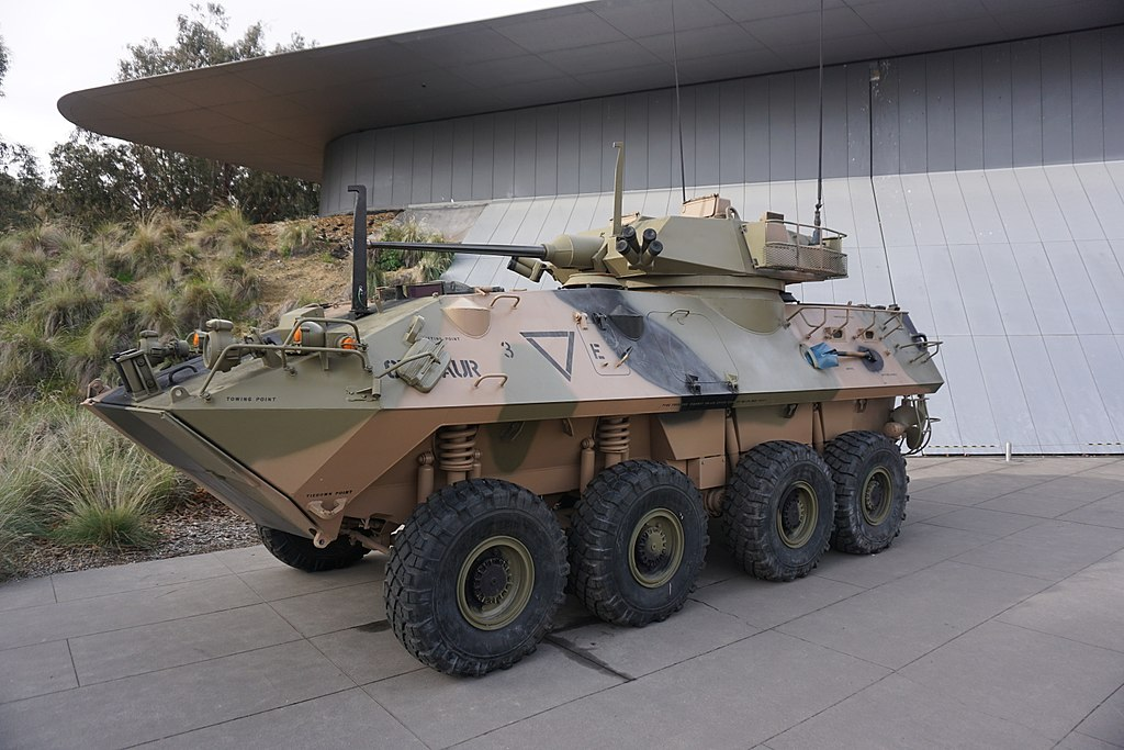 LAV-25 Australian Light Armoured Vehicle