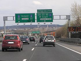 Image illustrative de l'article Autoroute M1 (Hongrie)