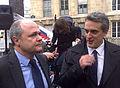 Avec le président du groupe SRC Bruno Leroux, 2012.jpg