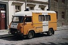 Avia A15 police van