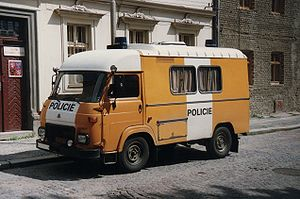 Avia - Avia A15 police van