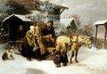 Avsked från föräldrahemmet, Bengt Nordenberg - Hallwylska museet - 13192.tif