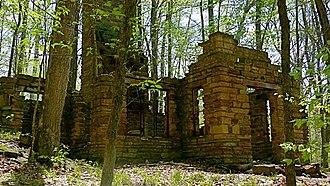Charles C. Deam Wilderness Area - Image: Axom Branch Cabin Charles C Deam Steve Skinner