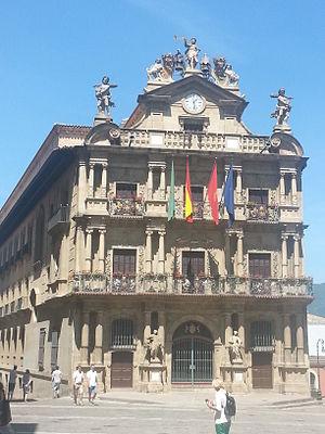 Ayuntamiento de pamplona wikipedia la enciclopedia libre - Pamplona centro historico ...