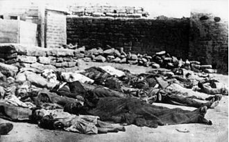 March Days - Image: Azerbaijani victims in Baku