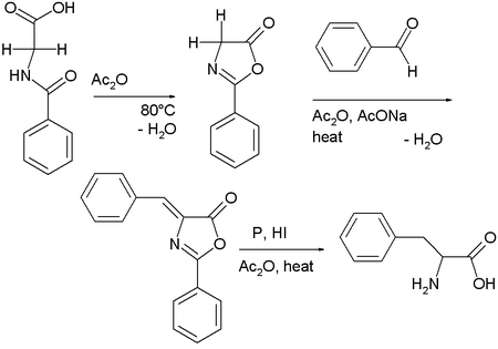 Azlactone chemistry: step 2 is a Perkin variation