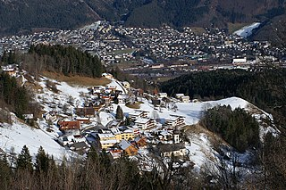 Bürserberg Place in Vorarlberg, Austria