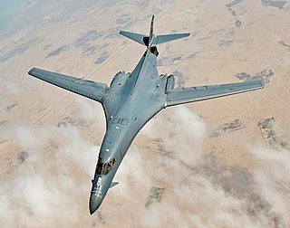 Rockwell B-1 Lancer American strategic bomber by Rockwell, later Boeing