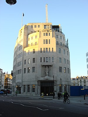 Broadcasting House is the headquarters and reg...