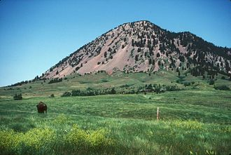 National Register of Historic Places listings in Meade County, South Dakota - Image: BEAR BUTTE