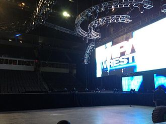 Impact! (TV series) - The 2013–2014 Impact Wrestling set, introduced on March 14, 2013; the raised walkway between the stage and ring was phased out in the summer of 2014