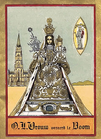 Boom, Belgium - Our Lady of Boom, ca 1910