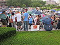 BP Oil Flood Protest NOLA Brollys Save the Gulf.JPG