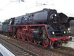 An East German Deutsche Reichsbahn express locomotive, the Class 01.5