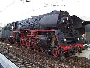DR Class 01.5 - Image: BR 01 519 plandampf schifferstadt 100 2076