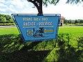 Bačice-Udeřice sign in Bačice, Třebíč District.jpg