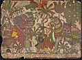 Babhruvahana Kills Animals to Save Syamakarna (recto), Babhruvahana Faces Arjuna's Army with Syamakarna (verso), Scenes from the Story of Babhruvahana, Folio from a Mahabharata ((War of the) LACMA M.80.231.3a-b (2 of 2).jpg