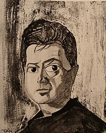 Portrait de Francis Bacon par Reginald Gray (en), 1960.
