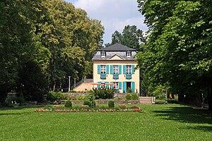 Bad Lobenstein - City park, former palace garden