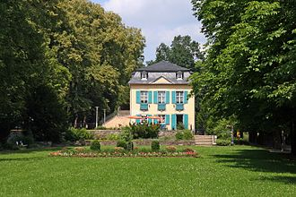 Bad Lobenstein - City park, former palace garden