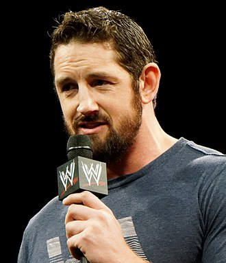 King of the Ring (2015) - Bad News Barrett, the winner of the King of the Ring 2015.