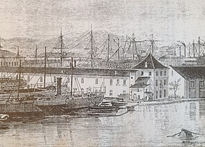 Bagne of Toulon - The Bagne of Toulon in the mid-19th century
