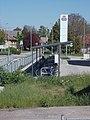 Bahnhof, Fahrradabstellanlage, 2021 Kápolnásnyék.jpg