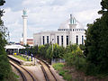 Bait-ul-Futuh Mosque in London.JPG