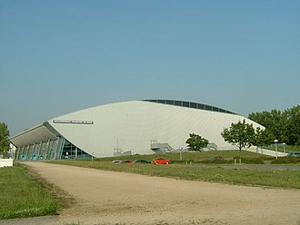 Skyliners Frankfurt - The Fraport Arena, home venue of the club since 1999