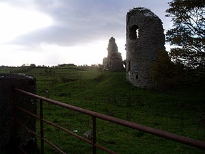 Jordan de Exeter - Ballylahan Castle, built by Jordan de Exeter in 1239.