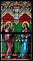 Baltringen St.-Nikolaus-Kirche Chor Nordfenster Mariä Verkündigung Detail 2010 08 01.jpg