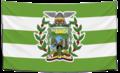Bandera con escudo de Balzar.png
