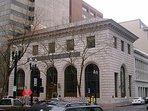 A. E. Doyle - Bank of California Building in 2007