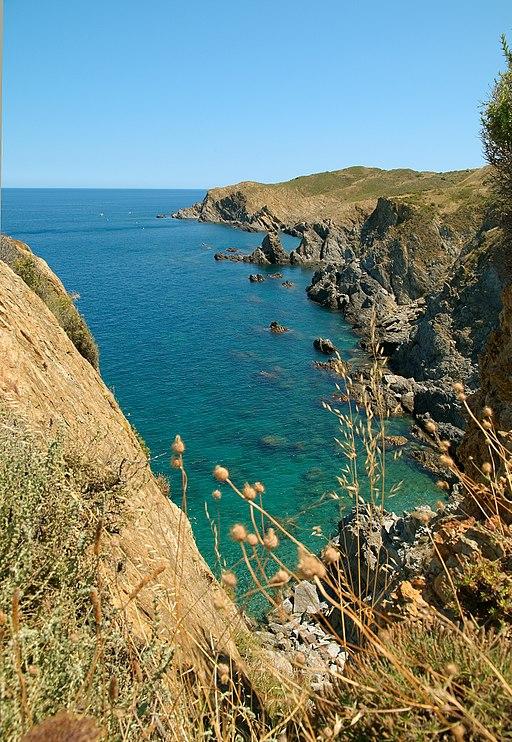 Banyuls coast 1 Luc Viatour