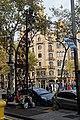Barcelona - Passeig de Gràcia - View North on typical Lamppost 1906 by Pere Falqués i Urpí.jpg