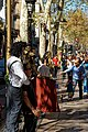 Barcelona - Rambla dels Caputxins - Streetartist 'Edward Scissorhands' in action.jpg