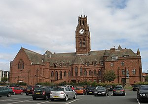 Barrow-in-Furness Town Hall - Image: Barrow Town Hall, Cumbria, NWE
