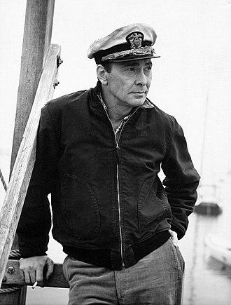 Barry Sullivan (American actor) - Barry Sullivan in Harbormaster (1957)