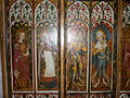 Barton Turf, Screen, Saint Appolonia and Saint Zita with Angels.jpg