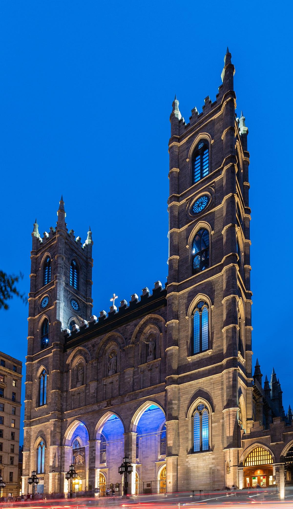 notredame basilica montreal wikipedia