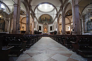 Belluno Cathedral - Interior
