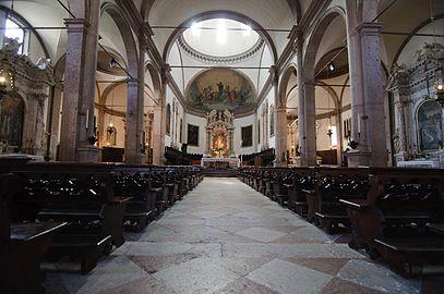 Basilica cattedrale di San Martino (Duomo), interno (Belluno).JPG